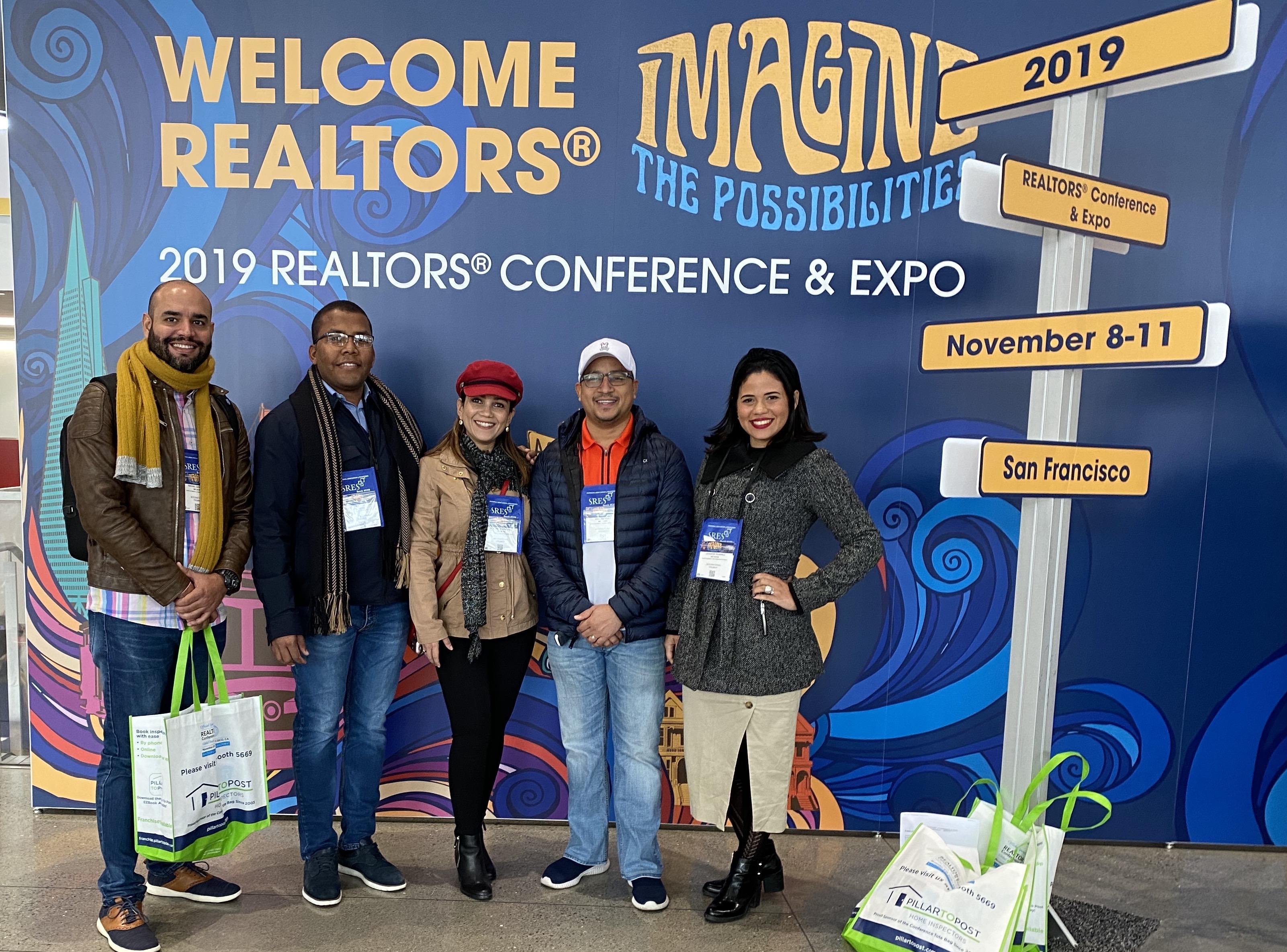 Equipo MR.HOME participa en la Convención Anual de la NAR, en San Francisco California.