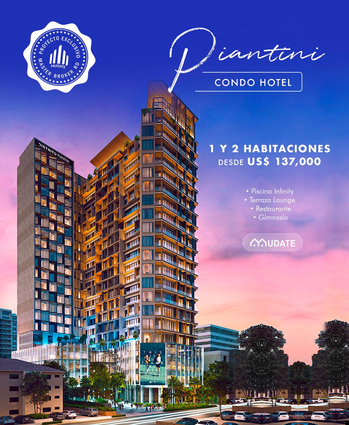 Distrito Piantini - 80% VENDIDO